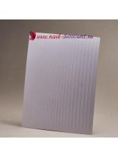 3D эластичные наклейки полосы для дизайна ногтей WHITE (гнутся)