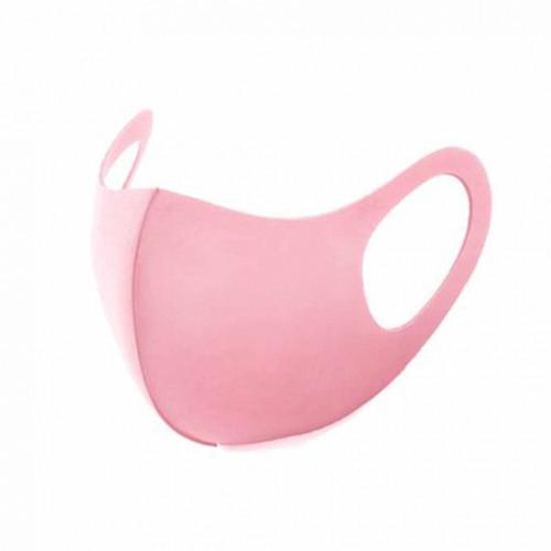 Маска защитная для лица неопреновая, розовая (упаковка 5шт.)