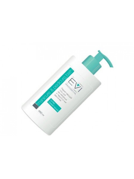 EVI Professional Размягчающий гель для маникюрных и педикюрных ванночек 450 мл.