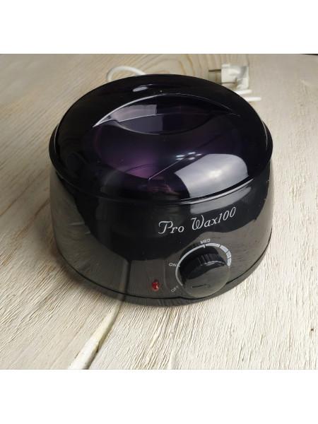 Воскоплав для горячего воска Pro-Wax 100 (черный)