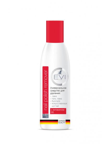 EVI Professional Универсальное средство для снятия всех видов гель-лака, биогеля, иск ногтей 150 мл