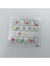 3D наклейки для дизайна ногтей №54
