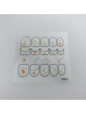 3D наклейки для дизайна ногтей №74