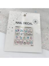 3D наклейки для дизайна ногтей №77