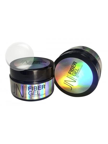 Гель со стекловолокном JN Fiber Gel 15г №01