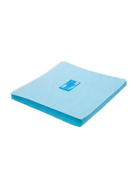 Салфетка одноразовая 40*40 SMS 20 голубой White line 200шт пачка