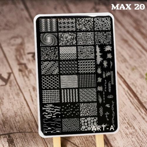 Пластина для стемпинга Art-A MAX 20-44