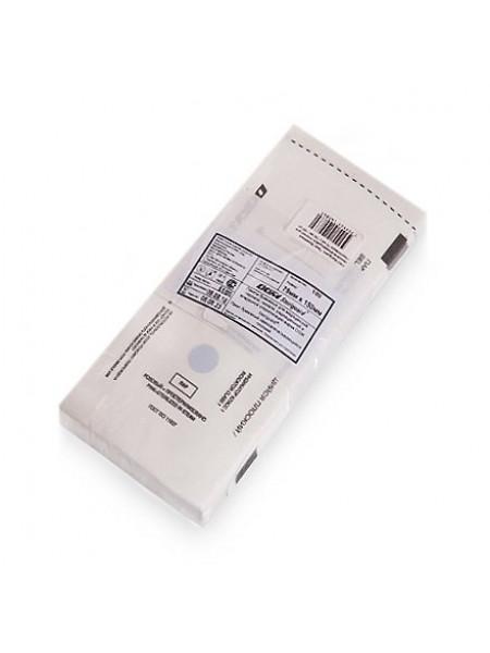 """Пакет бумажный самозапечатывающийся для стерилизации """"DGM Steriguard"""" 75х150 мм. (Белые) 100шт."""
